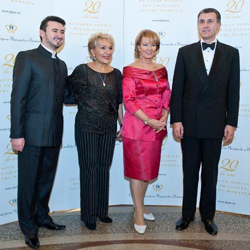 Yuriy Tsiple, Nelly Miricioiu, Prinicipesa Margareta, principele Radu