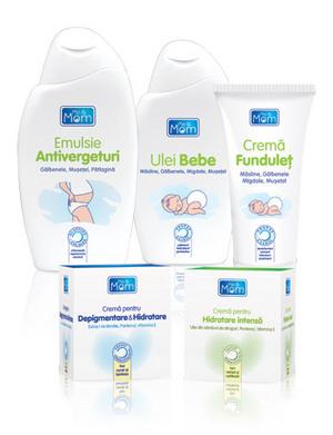 Me & Mom: produse pentru ingrijirea pielii mamicilor si a bebelusilor