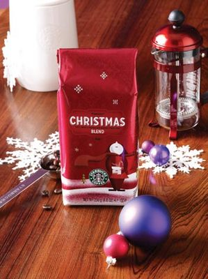 Cafeaua Starbucks Christmas Blend