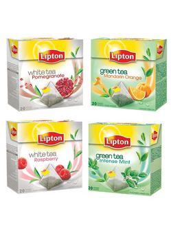 Lipton reinventeaza gustul ceaiului verde si alb