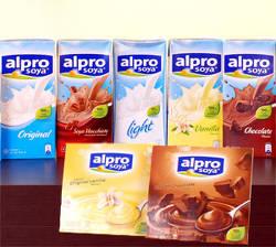 Alpro Soya produse pe baza de soia