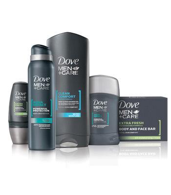 Gama Dove Men+Care pentru barbati se lanseaza in Romania