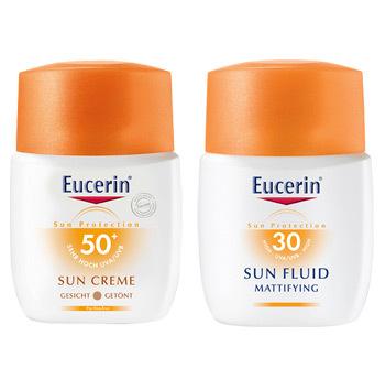 Protectie solara pentru fata cu Eucerin