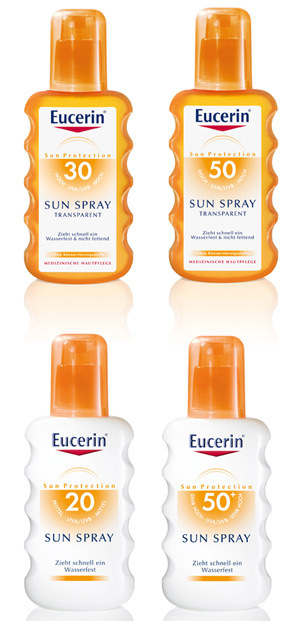 Pentru ca iubim soarele: protectie solara de la Eucerin