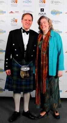 Ambasadorul Marii Britanii la Bucuresti, Dl. Martin Harris OBE si sotia