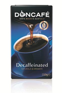 Simte bogatia gustului cu Doncafe Decaffeinated!