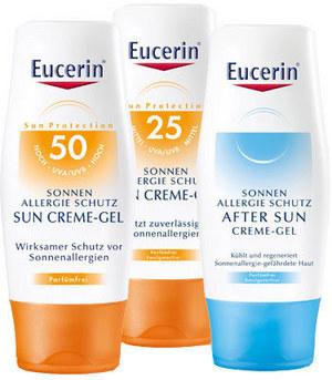 Eucerin SUN - pentru persoanele cu pielea alergica la soare