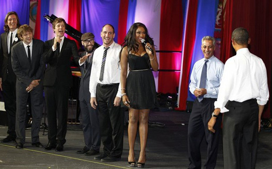 Jennifer Hudson, Barack Obama
