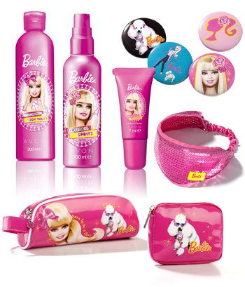 Noua gama Barbie de la Avon pentru fetite