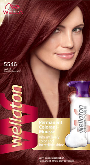 Wellaton Permanent Colorant–Mousse