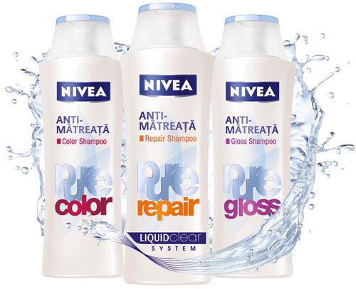 Gama Nivea Pure anti-matreata