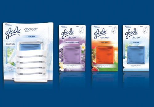 Glade Discreet -  cel mai subtire odorizant electric