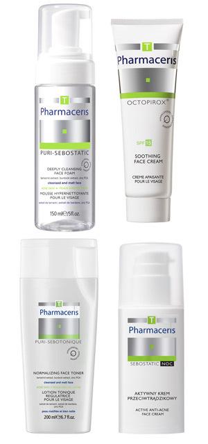 Pharmaceris T - Dermo-ingrijirea pielii acneice