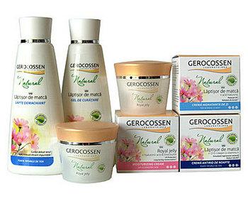 Noua gama Gerocossen Natural cu laptisor de matca