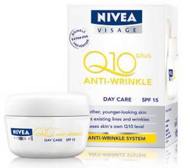 Crema de zi antirid NIVEA VISAGE Q10 Plus