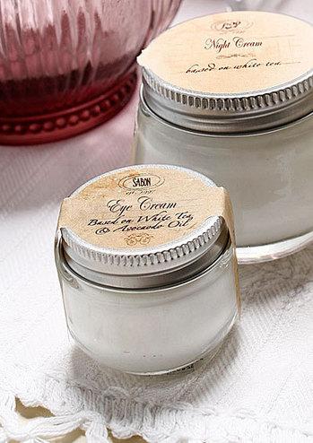 Crema de ochi pe baza de ceai alb si avocado de la Sabon