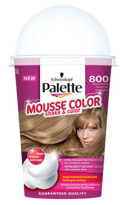 Palette Mousse Color si vopsitul parului poate fi distractiv
