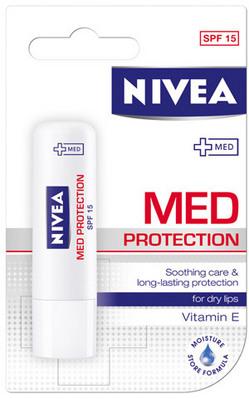 NIVEA Lip Care MED Protection si NIVEA Lip Care SOS Lip Relief