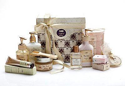 Set cosmetice pentru cadouri de Sarbatori de la Sabon