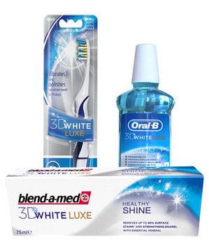 blend-a-med 3D White Luxe Healthy Shine