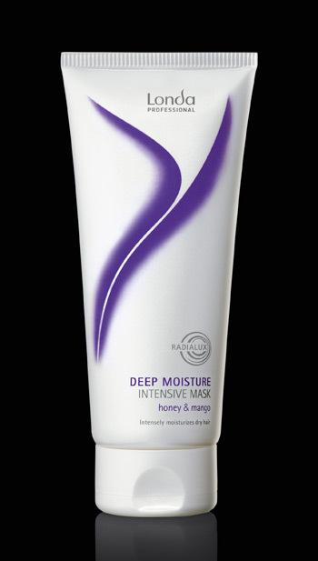 Masca de par Deep Moisture pentru un par hidratat, suplu si stralucitor