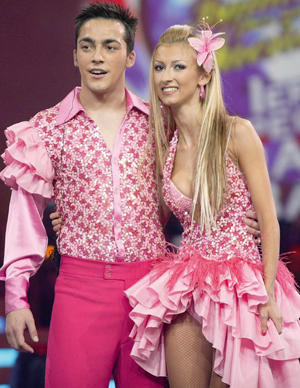 Petrisor Ruge, Andreea Balan, concursul Dansez pentru tine din Mexic