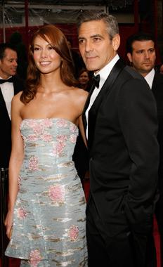 Sarah Jane Larson, George Clooney