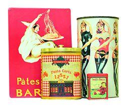 cutii metalice vintage