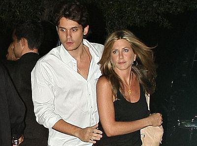 Jennifer Aniston si John Meyer
