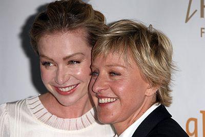 Portia de Rossi, Ellen DeGeners
