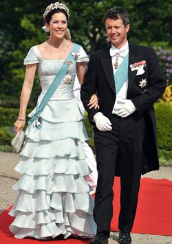 Printul Frederik, printesa Mary a Danemarcei