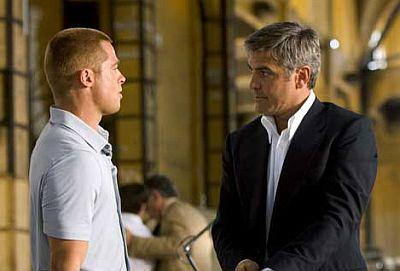 Brad Pitt, George Clooney