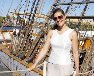 Victoria, printesa mostenitoare a Suediei