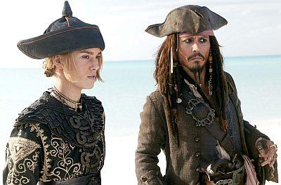 Keira Knightley, Johnny Depp