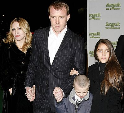 Madonna, Guy Ritchie, Rocco, Lourdes