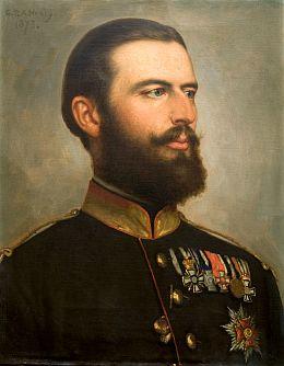 George Peter Healy, Portretul Regelui Carol I