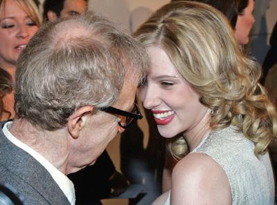 Scarlett Johansson, Woody Allen