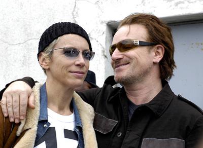 Annie Lennox, Bono