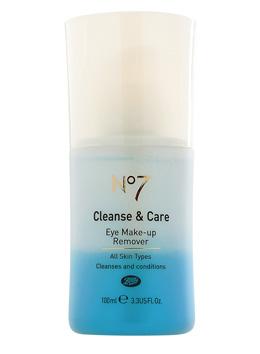 demachiant pentru ochi No 7 Cleanse&Care