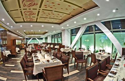 restaurant Senses, hotel Ramada