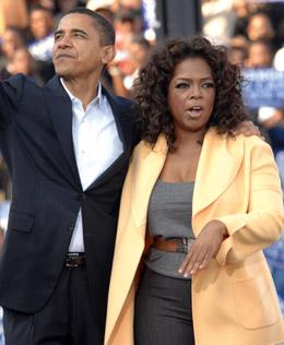 Barack Obama, Oprah