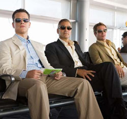 George Clooney, Brad Pitt, Matt Damon