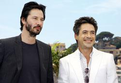 Robert Downey Jr, Keanu Reeves