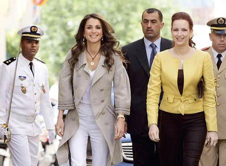 printesa Lalla Salma, regina Rania a Iordaniei