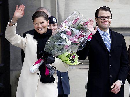Printesa Victoria a Suediei, Daniel Westling