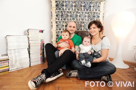 Calin Goia, familia