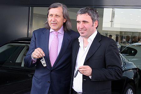 Ilie Nastase, Gheorghe Hagi
