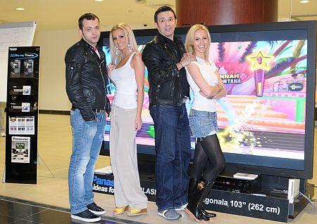 Mihai Morar, Daniel Buzdugan, Andreea Perju, Marina Dina