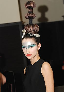 Hairstyle Avantgarde Collection by Laurent Tourette