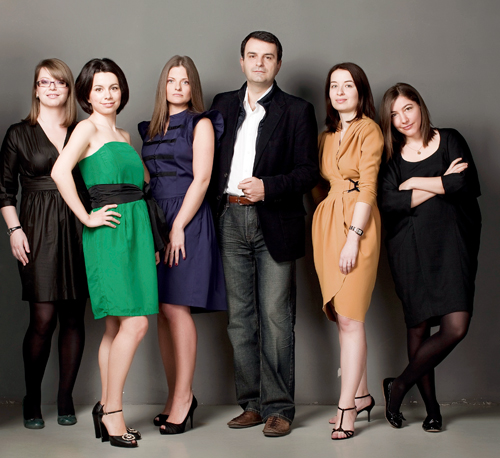 Carmen Stefancu, Claudia Cosma, Andreea Cretu, Lucian Mandruta, Florentina Liutic, Cristina Craciun